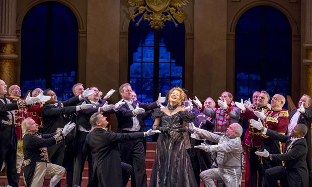 Renée Fleming stars in the Lyric Opera's 'The Merry Widow.'