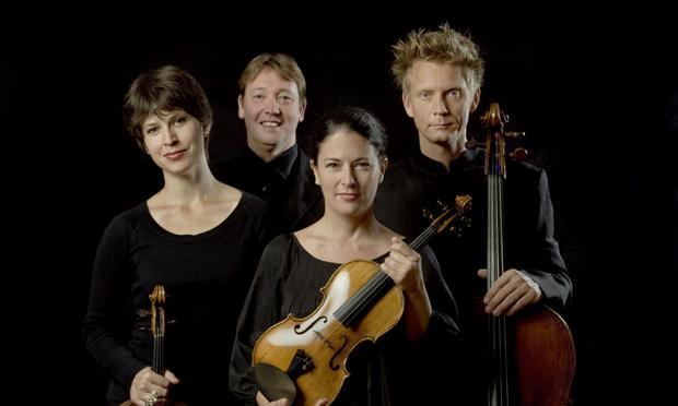 The Minguet String Quartet.