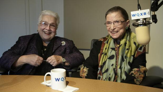 Marily Horne and Ruth Bader Ginsburg