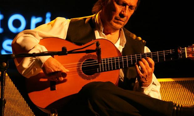 Paco de Lucia at the Vito Jazz Festival in July 2010.