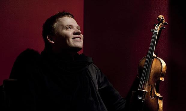 Finnish violinist Pekka Kuusisto