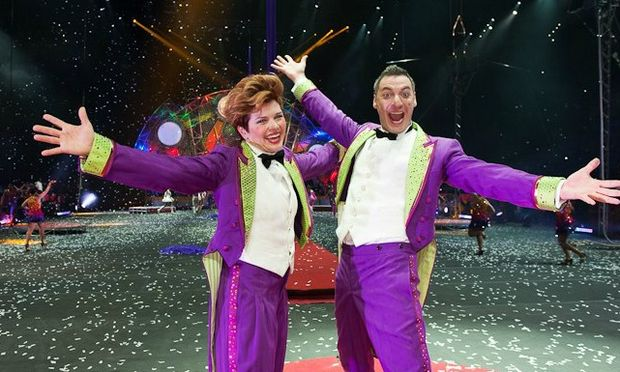 Performers at Ringling Bros. and Barnum Bailey Circus