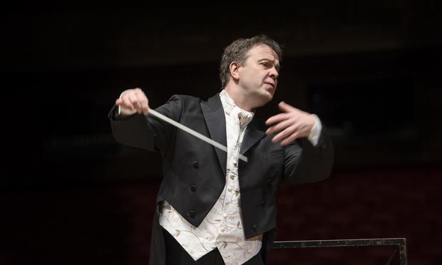 Conductor Sakari Oramo.