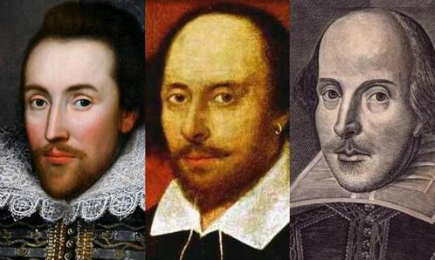 Shakespeare of the Cobbe Portrait, the Chandos Portrait, and the Droeshout Engraving.