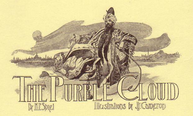 Title illustration for The Purple Cloud