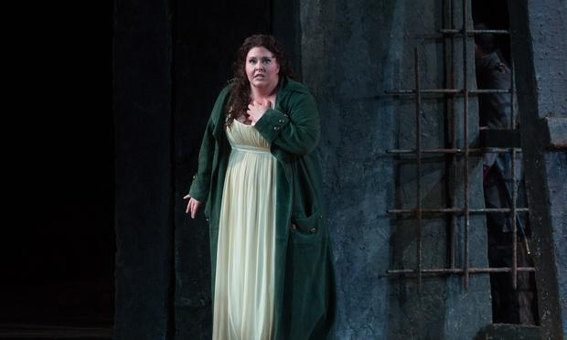 Angela Meade as Leonora in Verdi's 'Il Trovatore' at the Metropolitan Opera.