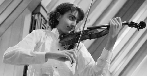 Violinist Stephen Waarts