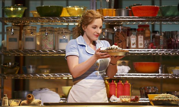 Jessie Mueller stars in the Broadway musical, 'Waitress.'