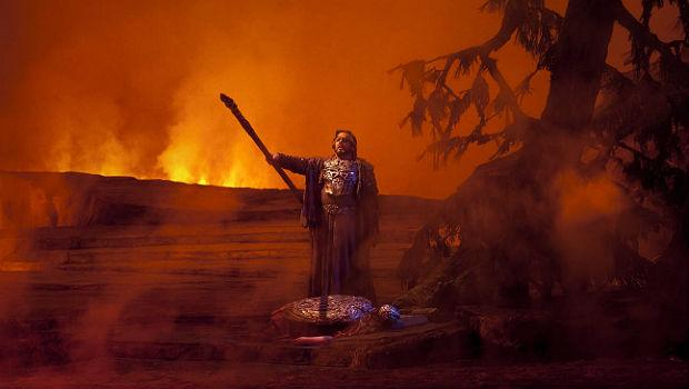 James Morris as Wotan in 'Die Walkure'