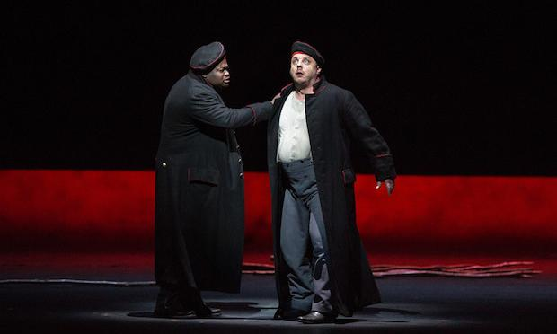 Russell Thomas as Andres and Matthias Goerne as the title role of Berg's 'Wozzeck.'