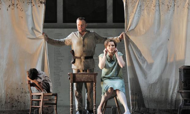 Tomasz Konieczny and Angela Denoke star in the Lyric Opera's production of 'Wozzeck.'