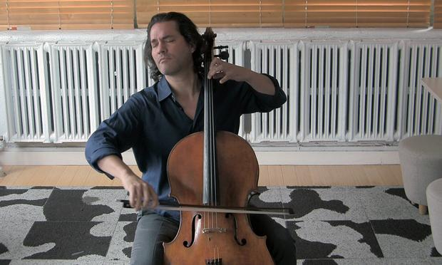 Cellist Zuill Bailey.