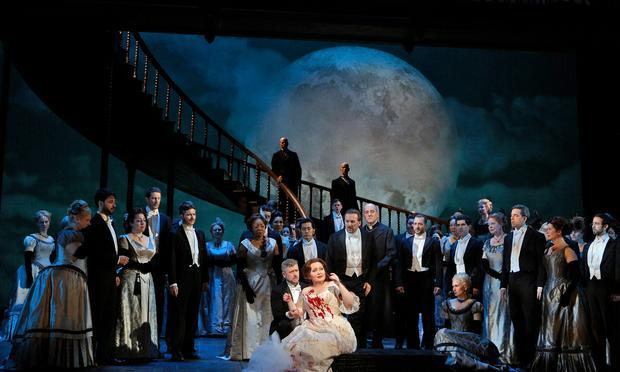 Albina Shagimuratova in the title role of Donizetti's 'Lucia di Lammermoor'