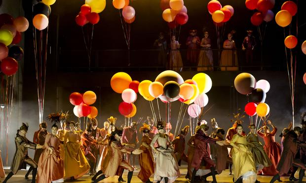 Verdi's 'A Masked Ball' from the Royal Opera in Stockholm.