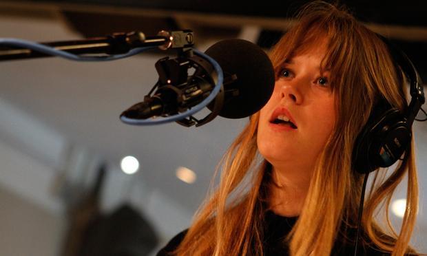 Anna von Hausswolff performs in the Soundcheck studio.