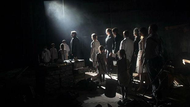 A Moscow production of Lera Auerbach's opera 'The Blind' on Dec. 12, 2012