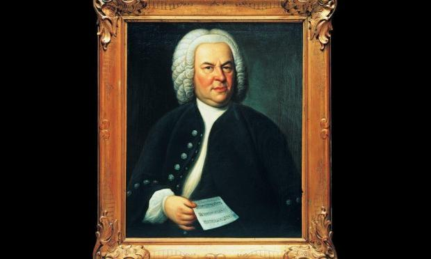 Bach Portrait by Elias Gottlob Hausmann in 1748