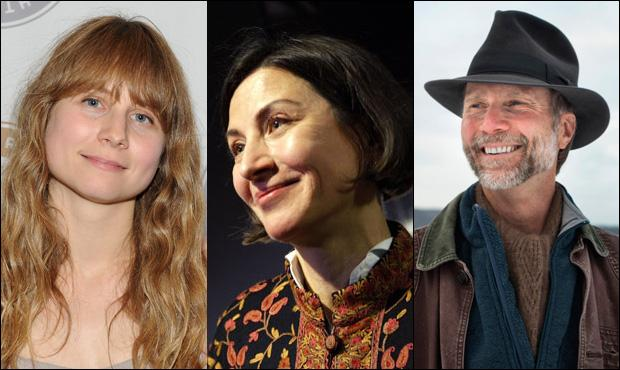 (Left to right) Pulitzer Prize winners Annie Baker, Donna Tartt, and John Luther Adams