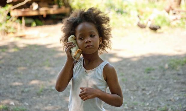 Young actress Quvenzhané Wallis dropped by Celebrate Brooklyn to conduct Wordless Music Orchestra during a live performance of her film 'Beasts Of The Southern Wild.'