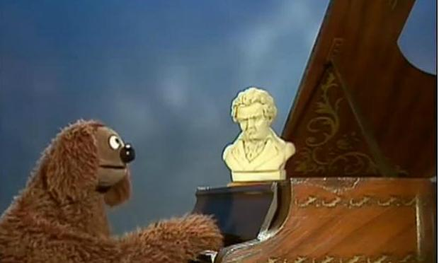 Rowlf the Dog Plays Beethoven