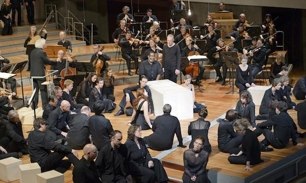 The Berlin Philharmonic perform Bach's 'St. Matthew Passion' at the Park Avenue Armory in October.