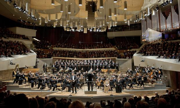The Berlin Philharmonic at the Philharmonie