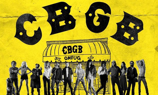 The film 'CGBG' is based on the famous, now-defunct club in Manhattan.