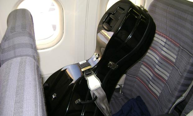 instrument passenger on a plane