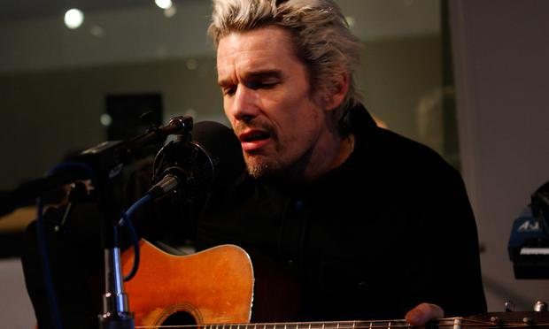 Ethan Hawke performs music from the play Clive in the Soundcheck studio.