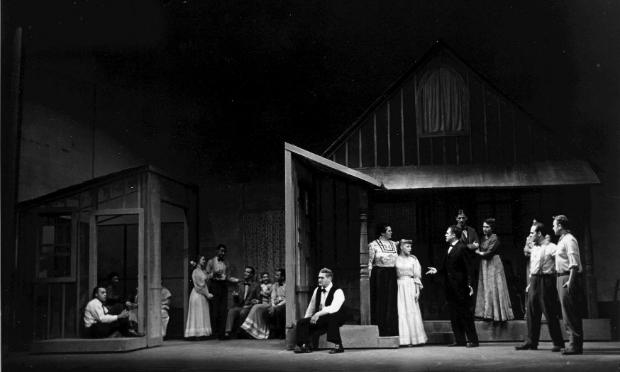 'The Tender Land,' production shot, 1954