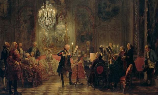 Flute Concert with Frederick the Great in Sanssouci