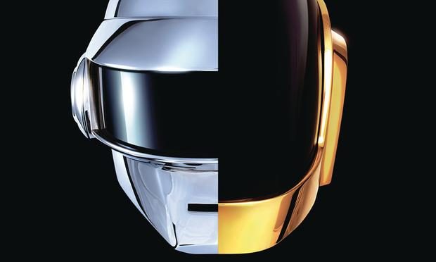 Daft Punk's 'Get Lucky' from its long-awaited new album 'Random Access Memories' was one of the biggest hits of 2013.
