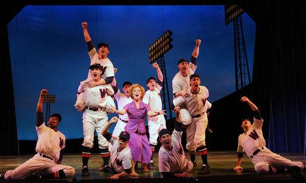'Damn Yankees' at the Paper Mill Playhouse in New Jersey.