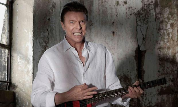 David Bowie in the new video for 'Valentine's Day.'