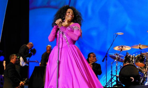 Diana Ross in concert in 2013
