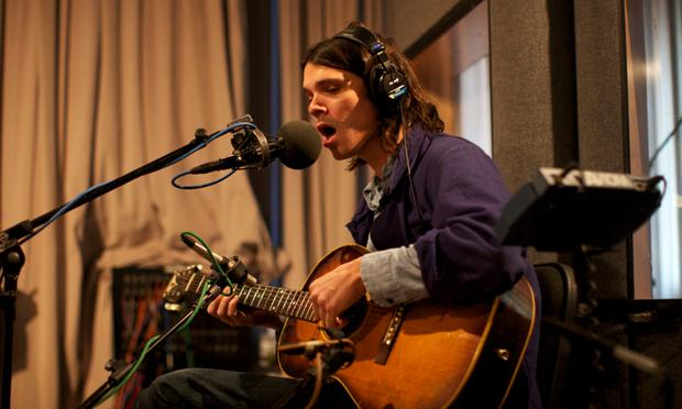 Dirty Projectors' David Longstreth performs live in the Soundcheck studio.
