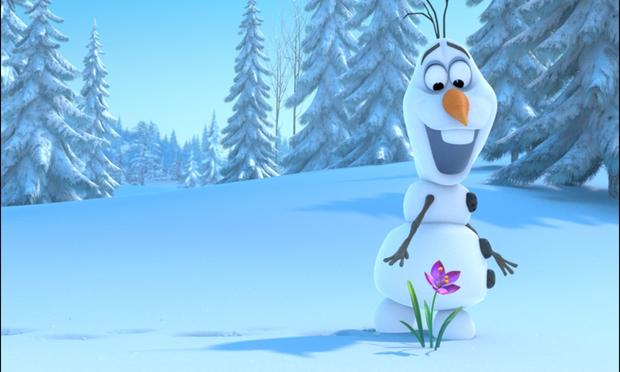 Snowman From Frozen Voice