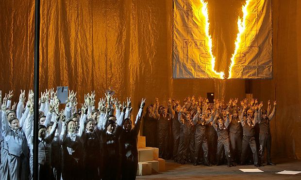 Wagner's 'The Flying Dutchman,' directed by Jan Philipp Gloger at the Bayreuth Festival