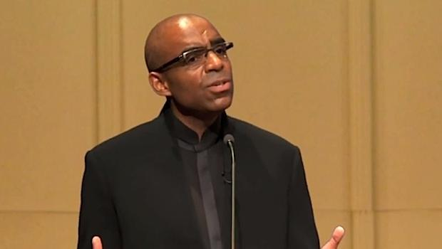 Aaron Dworkin, president of the Sphinx Organization, at Carnegie Hall