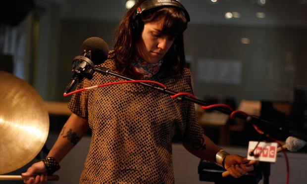 Emily Wells performs in the Soundcheck studio.