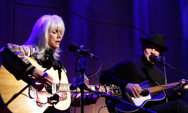 Emmylou Harris and Rodney Crowell perform on Soundcheck in the Greene Space at WNYC.