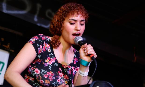Empress Of performs Saturday at the Brooklyn Vegan party at The Main in Austin, Texas during South By Southwest.