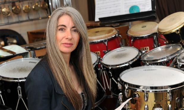 Evelyn Glennie, percussionist