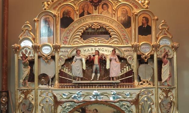 A 1905 Marenghi Organ