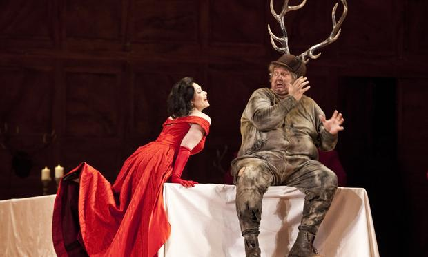 Verdi's 'Falstaff' from La Scala in Milan starring baritone Ambrogio Maestri in the title role.