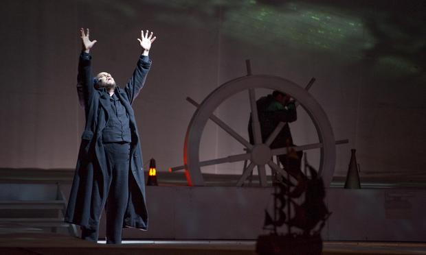 Juha Uusitalo as Dutchman in a production of Wagner's 'The Flying Dutchman' from Naples.
