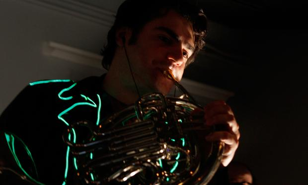 French Horn Rebellion performs in the Soundcheck studio.
