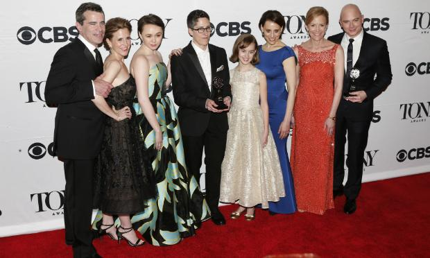 The cast of 'Fun Home,' winner of the award for Best Musical at the Tony Awards on June 7, 2015