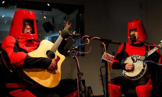 Future Folk performs in the Soundcheck studio.