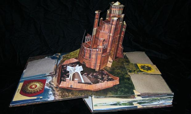 Matthew Reinhart's Game of Thrones: A Pop-Up Guide to Westeros